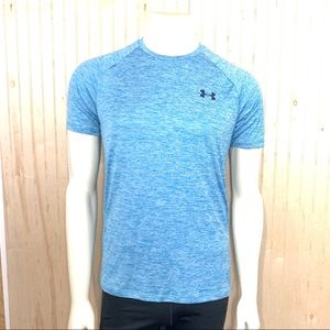 Under Armour The Tech Tee Shirt Blue Size Small